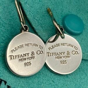 Tiffany & Co. Signature Return To Tiffany Earrings
